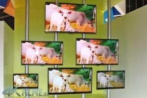 Das komplette Ultra HD Fernseher Lineup von Seiki