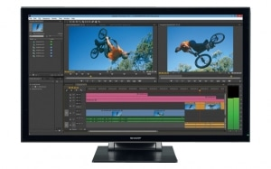 Sharp PN-K322BH Designer 4K Touchdisplay