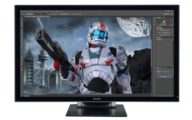 Sharp PN-K322BH Designer 4K Touchdisplay