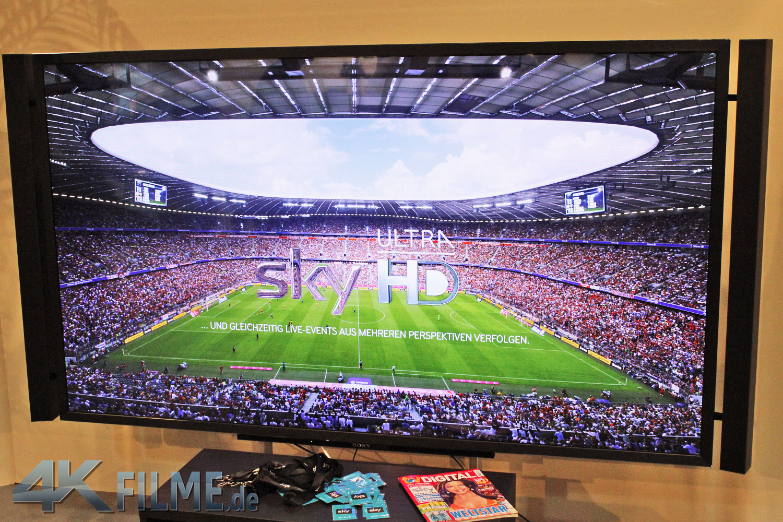 Sky Ultra HD Fussball