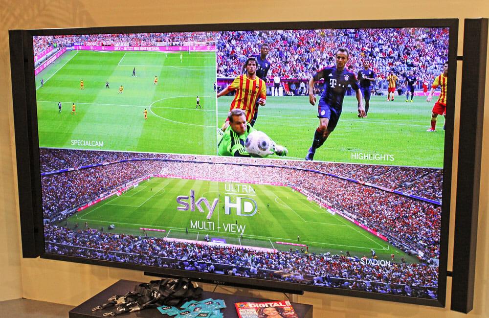 Neue Fernsehkonzepte vorgestellt in Ultra HD auf dem Tecwatch Forum