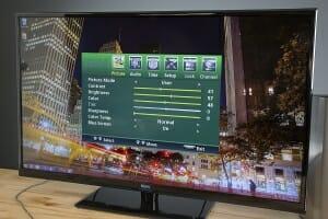 Optimale Einstellunge Seiki 4K TV