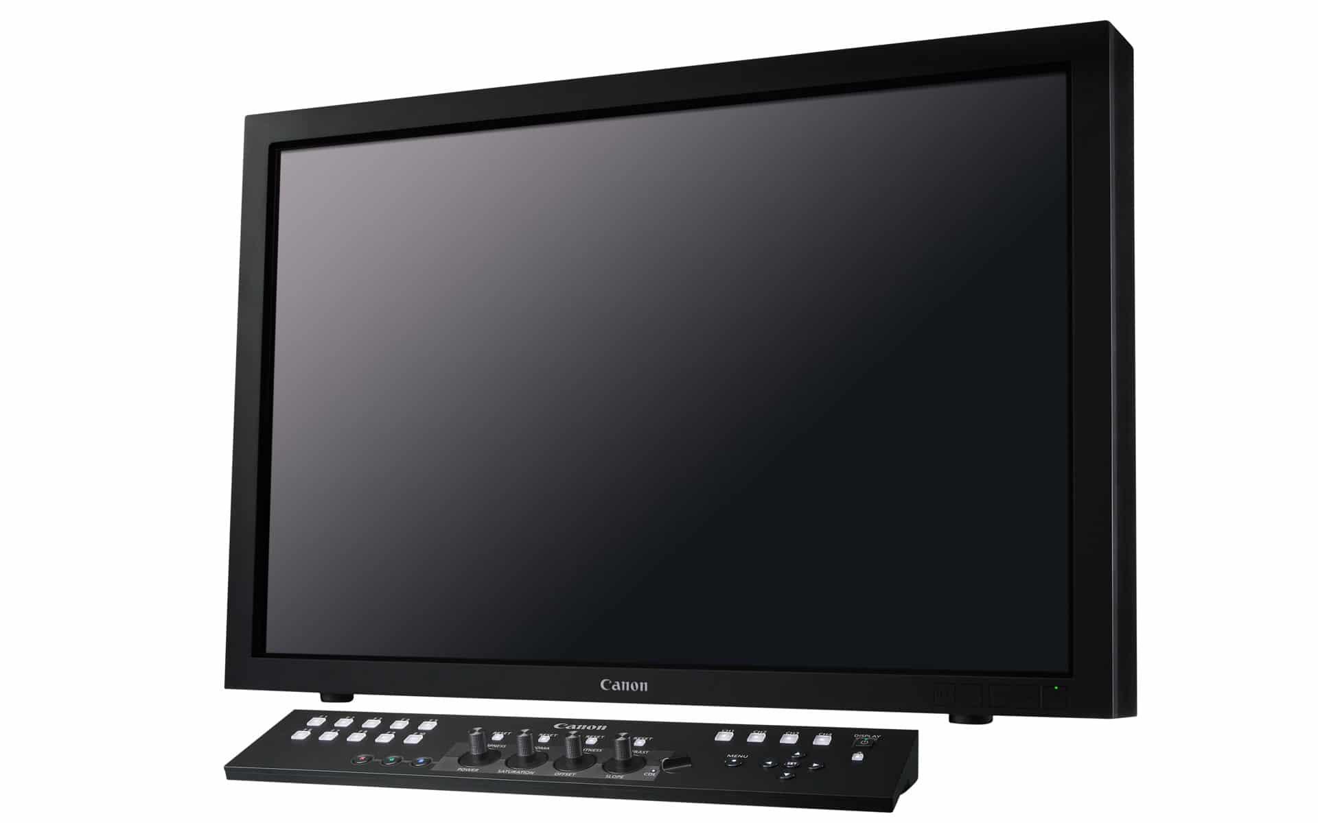Canon DP-V3010 4K Monitor mit Steuerungselement