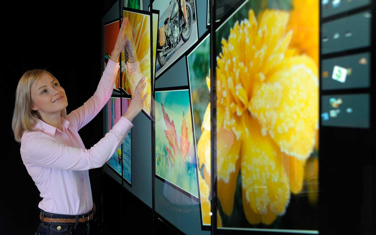 Multitouch Wall