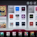 Werbung auf der Bedienoberfläche des LG Smart TV