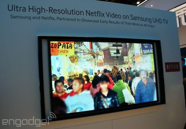Netflix Streaming auf der CES