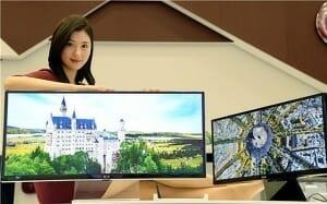 LG 31MU95 4K Monitor mit 21:9 Widescreen Display