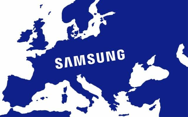 Samsung Europa 4K Fernseher