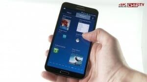 Samsung Galaxy Round Ultra HD Testvideo