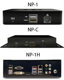Vergleich NP-1, NP-C und NP-1H