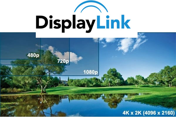 DisplayLink 4K Video über USB 3.0