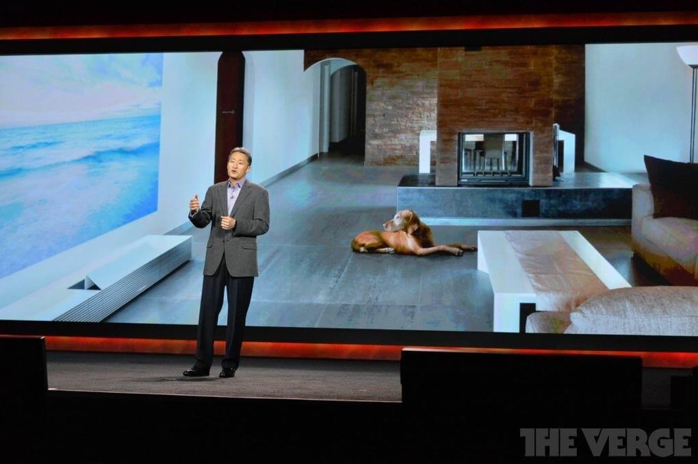 Sonys Life Space UX 4K Beamer für 30.000 - 40.000 Dollar