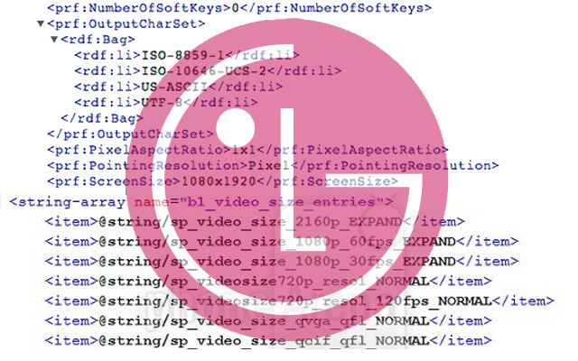 Erste Daten zum LG D803 4K Smartphone