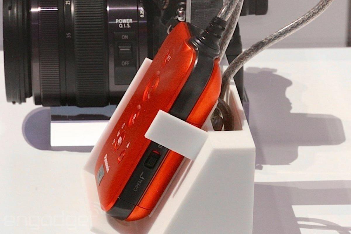 Panasonic HX A100 Ultra HD Actioncam Aufnahmebox