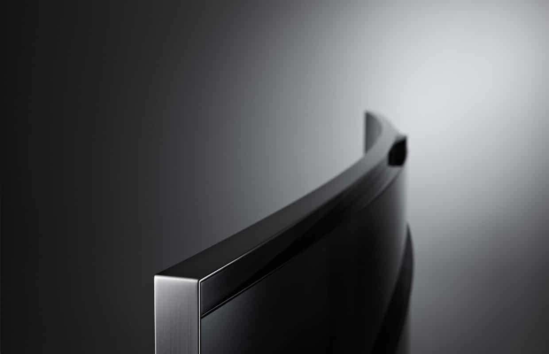 Samsung HU8590 gebogenes 4K Display