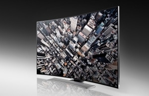 Samsung HU8590 Serie mit gebogenem Ultra HD Display