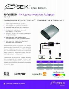 Seiki U-Vision HDMI Kabel Spezifikationen