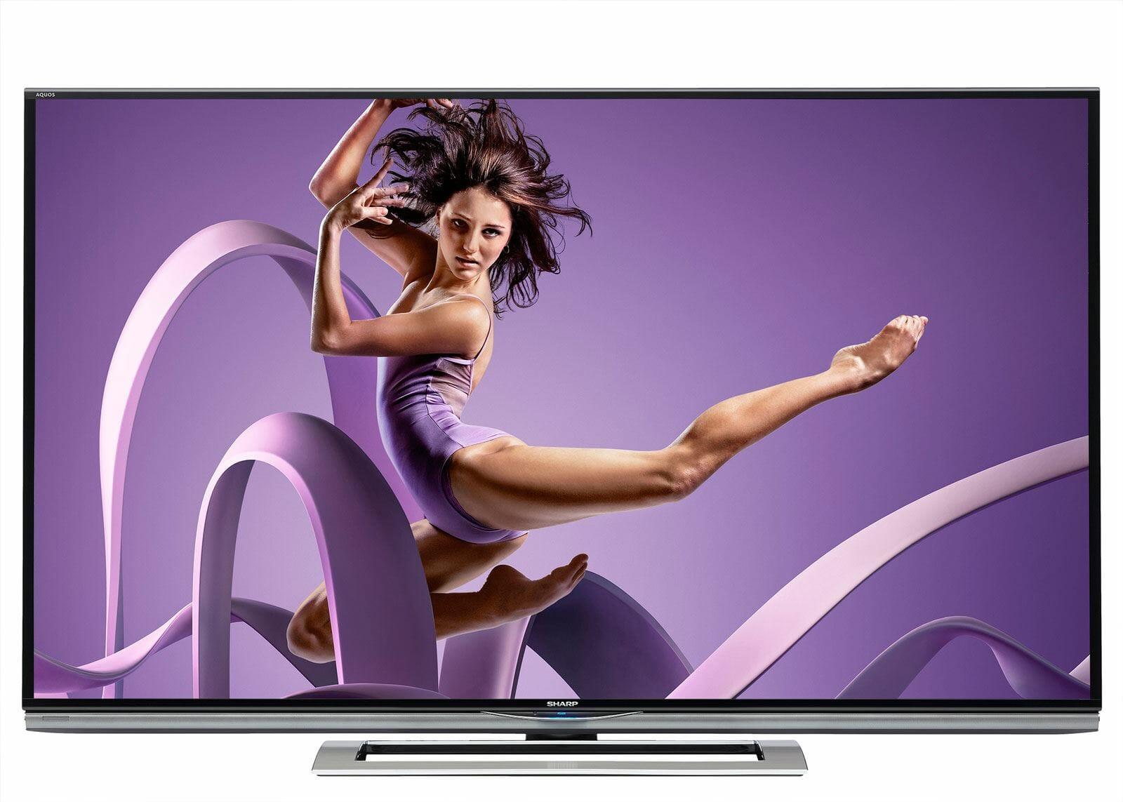 Sharp AQUOS LED 4K ULTRA HD Fernseher