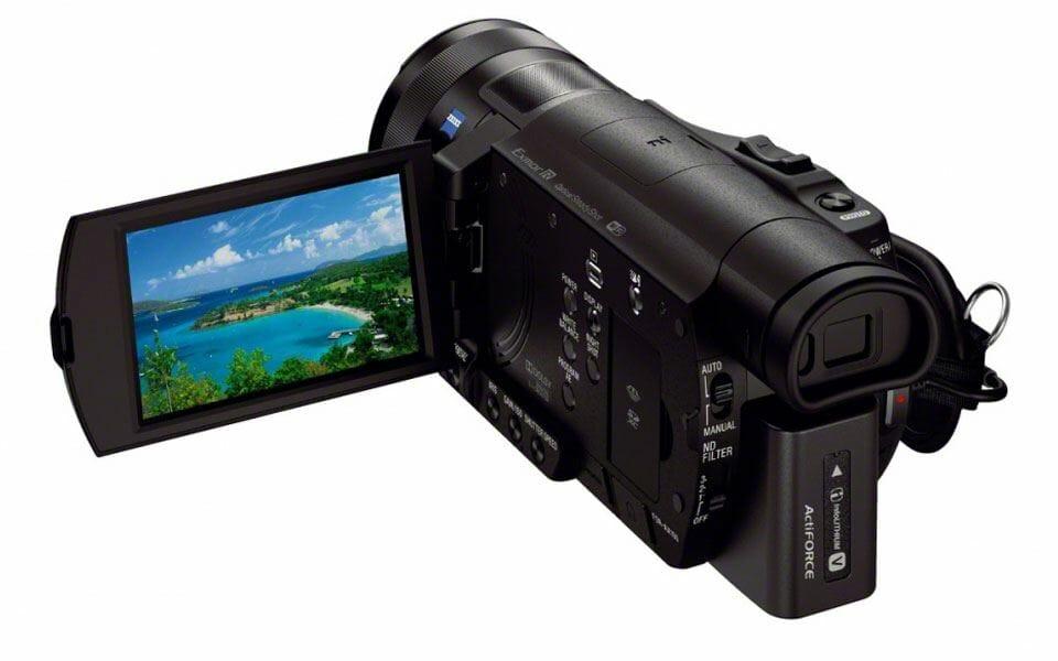 sony-FDR-AX100E-4k-camcorder