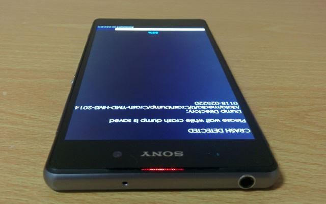 Erste Bilder des Sony 4K Smartphones Codename Sirius