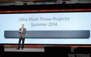 Kurzdistanzbeamer mit Ultra HD Auflösung Sony Life Space UX