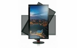 Der ThinkVision Pro2840m kann auch gedreht werden