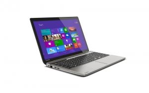 Toshiba P50t 4K Notebook von der Seite