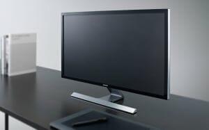 Samsung UD590 4K Monitor seitlicher Blickwinkel