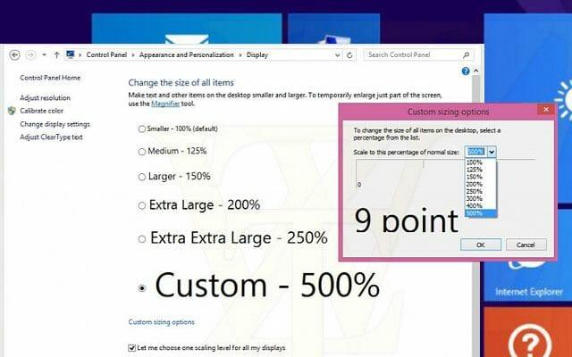 4K Support im Windows 8.1 Update 1