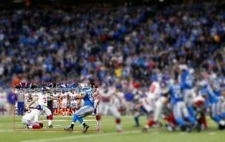 720p Crop eines 4K Bildes beim Super Bowl