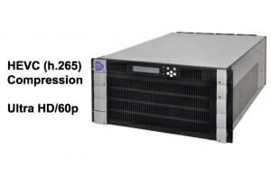 HEVC Kompression mit dem VC-8150 in Echtzeit