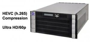 HEVC Kompression mit dem VC-8150 Encoder