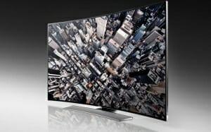 Samsung Curved Ultra HD TV