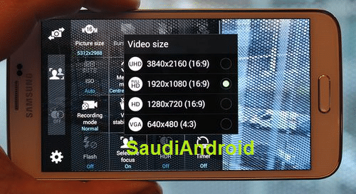 Samsung Galaxy S5 Ultra HD Videofunktion