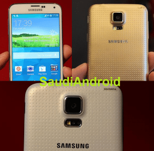 Samsung Galaxy S5 Front/Back