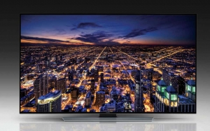 Samsung U8550 Ultra HD Serie mit flachem Display