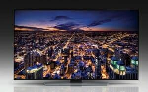 Samsung U8550 Ultra HD Serie mit flachem Display