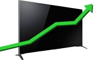 Verkäufe von Ultra HD Fernseher steigen
