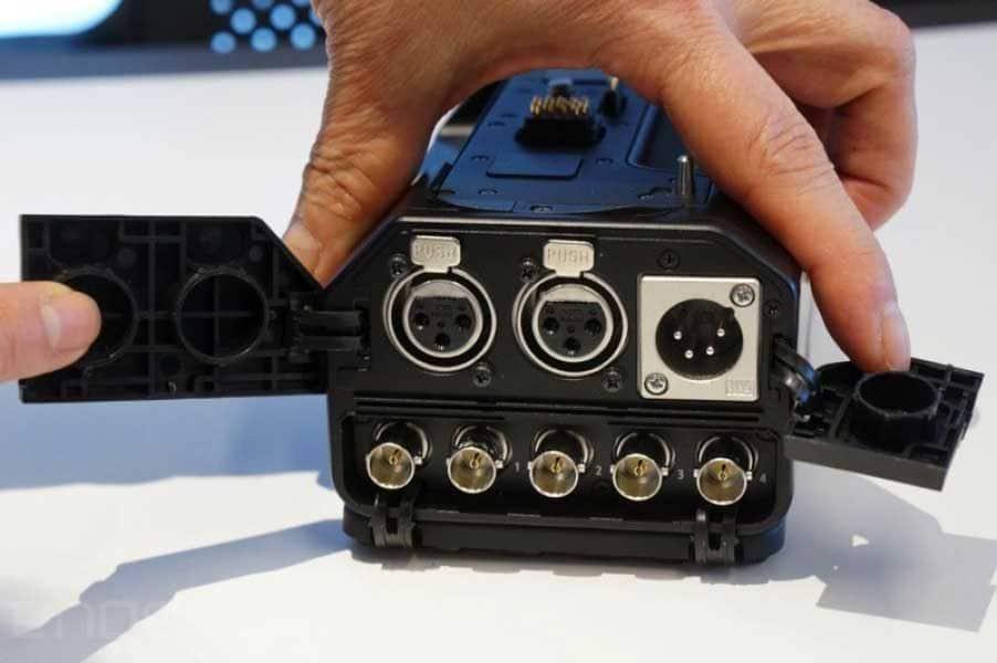Panasonic DMC-GH4 Kamera Bedienelemente