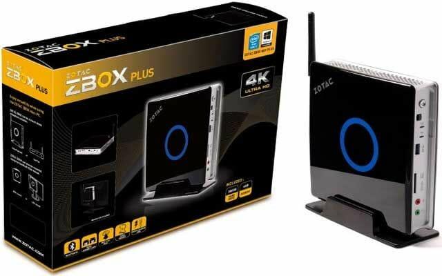 Zotac ZBox Plus mit 4K Unterstützung