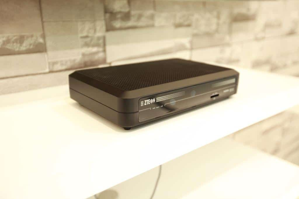 ZTE Set-Top-Box (STB) mit Ultra HD / 4K 60p und HEVC Support