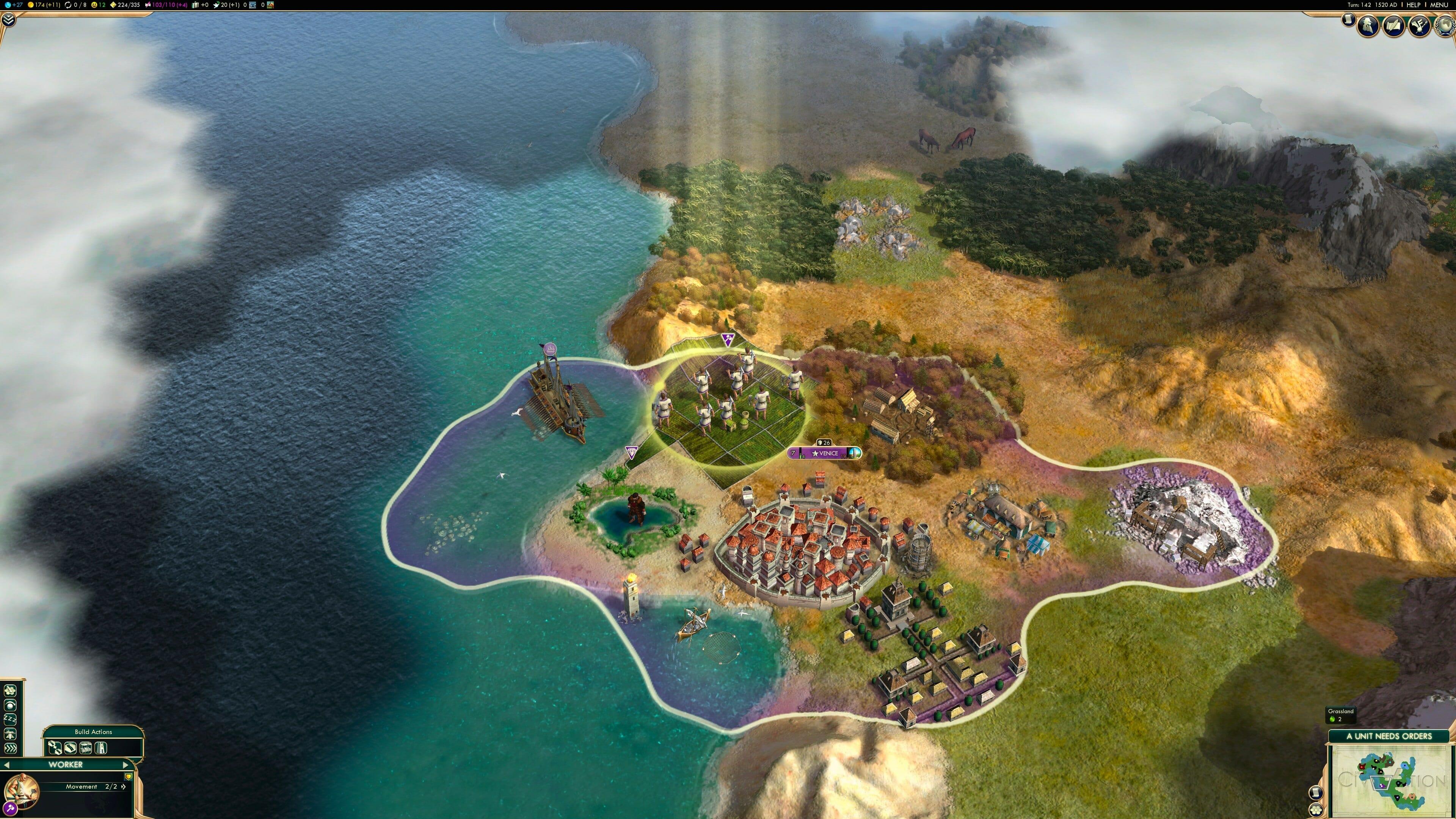 Civilization 5 in 4K Auflösung auf einem Mac Pro