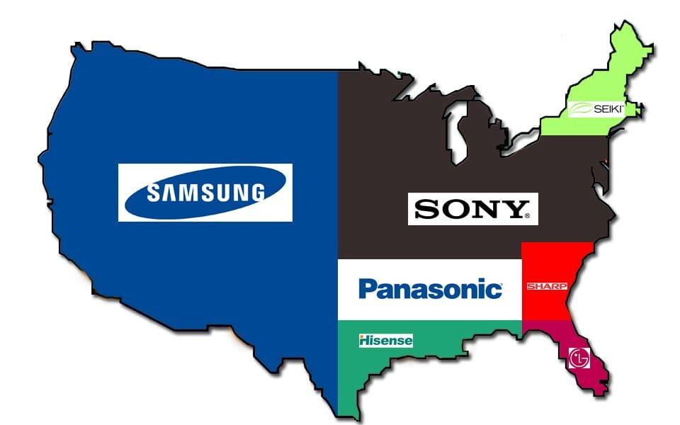 Samsung hat sich 50% des Nordamerikanischen UHD-Marktes einverleibt
