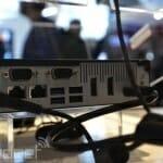 Shuttle DS81 Mini-PC mit 4K / Ultra HD Support Rückseite mit Anschlüssen