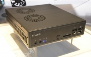 Shuttle DS81 Mini-PC mit 4K / Ultra HD Support Front