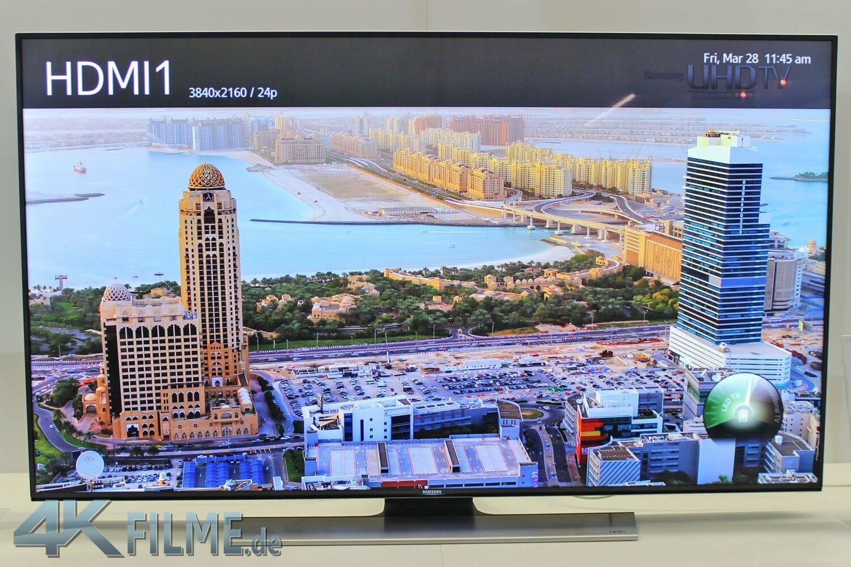 HU7590 flat Ultra HD TV