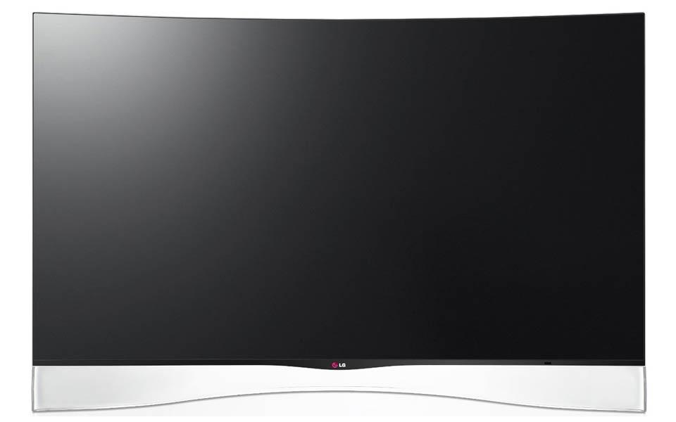 LG 55EA9709 OLED TV mit curved 55 Zoll Display