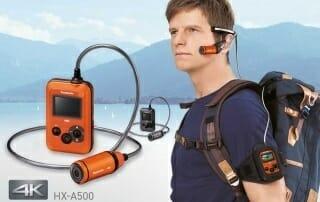Panasonic HX-A500 Promotion