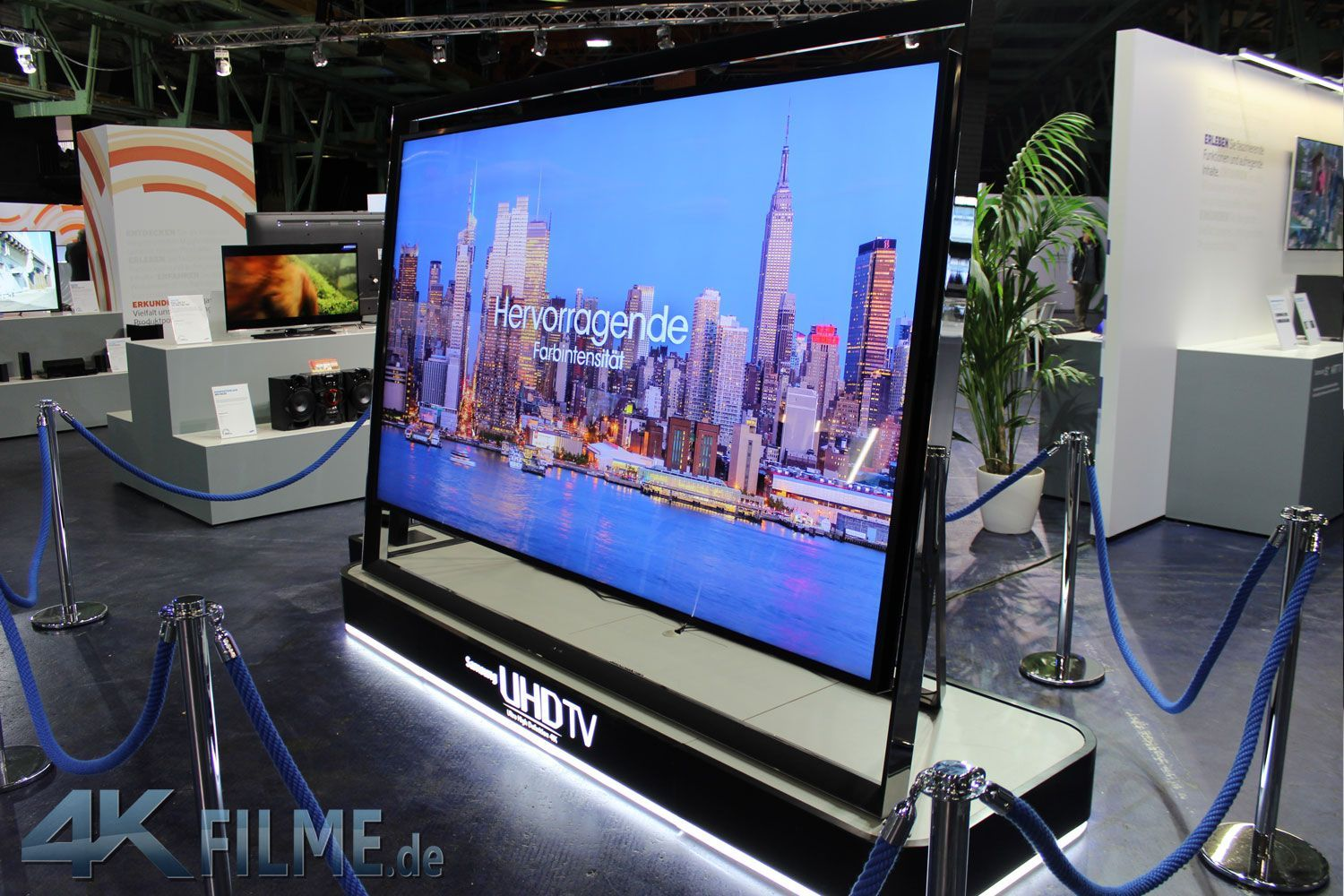 samsung roadshow die ultra hd tv neuheiten f r 2014 4k filme. Black Bedroom Furniture Sets. Home Design Ideas