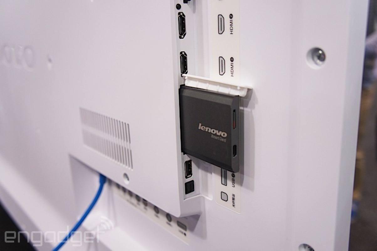 Lenovo Touch-Fernbedienung mit Spracheingabe